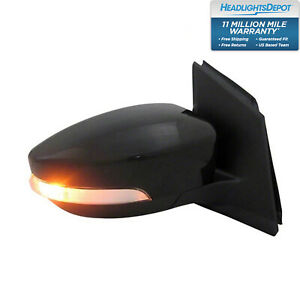 Fits 2013 2016 Ford Escape Right Hand Passenger Side Power Mirror