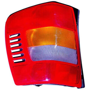 Fits 99 02 Jeep Grand Cherokee Left Driver Side Tail Light Nsf Certified