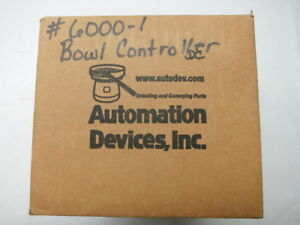 New Automation Devices 6000 1 Vibratory Feeder Controller 120v ac 15a