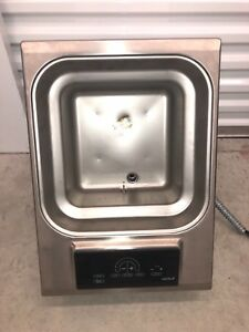 Wolf If15 s 15 Built In Electric Deep Fryer Touch Controls As Is Untested