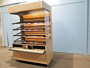 structural Concepts Commercial Self serve Lighted Bakery donuts Display Case