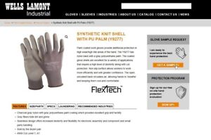 Wells Lamont Y9277 Size L Flextech Gloves New 12 Dozen Pair