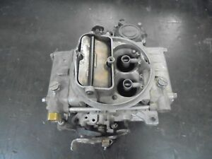 600 Cfm Classic Holley Carburetor Electric Choke Complete