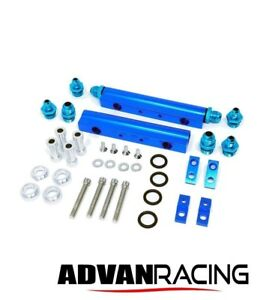 Rev9 Fr 015 Aluminum Top Feed Fuel Injector Rail Kit For Wrx Ej20 Ej25 Motor