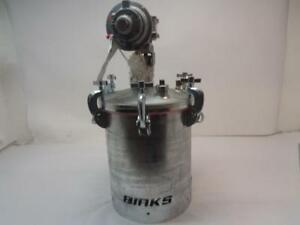 1 New Binks 5 Gallon Asme Galvanized Pressure Tank 183g 500 A1