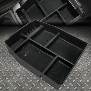 For 15 18 Ford F150 Removable Center Console Storage Box Armrest Organizer Tray
