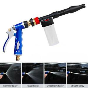 Car Washer Water Foam Gun Car Cleaning Washing Soap Shampoo Sprayer A5q1