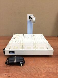 Perkin Elmer As 93plus Autosampler With Test Tube Holders And Power Adapter