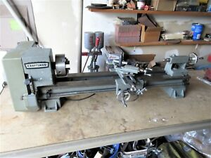 Vintage Craftsman Atlas Metal Lathe No 101 21200