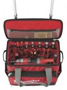 Milwaukee Electric Tool 216899 18 In Jobsite Rolling Bag