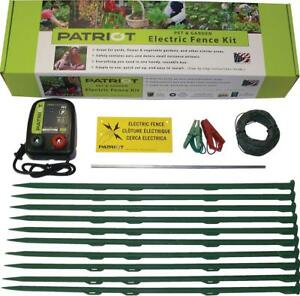 Patriot Pet Garden Electric Fence Kit