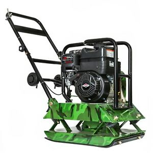 6 5hp Briggs Stratton Xr950 On Earthquake Industries Plate Compactor 21x18base