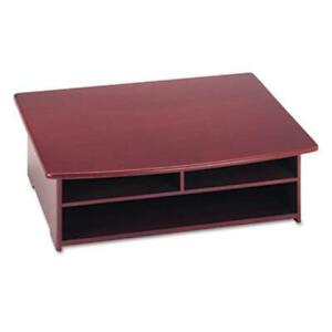 Rolodex 82437 Wood Tones Printer Stand 21 X 18 Mahogany