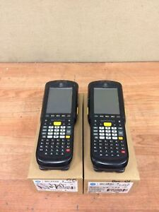 Lot Of 2 Motorola Barcode Scanner Mc9596 Mc9596 kdaeab00100 Working Free Ship