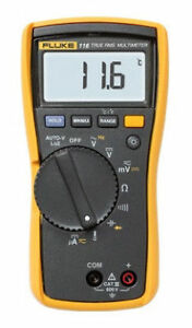 Fluke 116 323 Kit Hvac Multimeter Clamp Meter And Case