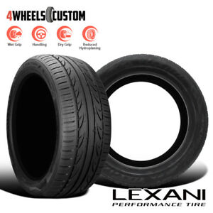 2 X New Lexani Lxuhp 207 235 40r18 95w Ultra High Performance All Season Tires