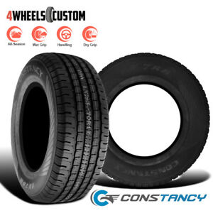 2 X New Constancy Ly788 215 75r15 105t Passenger All season Tires