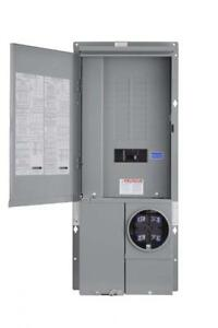 Square D By Schneider Electric Sc2040m125pf Homeline 125 amp 20 space