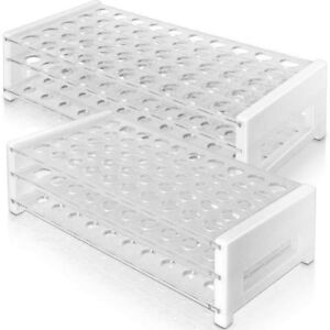 Plastic Test Tube Rack For 12 13mm And 15 17 Mm Tubes Holds 50