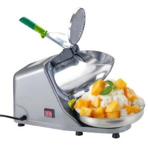 Koval Inc Heavy Duty Stainless Steel Ice Shaver Snow Cone Machine