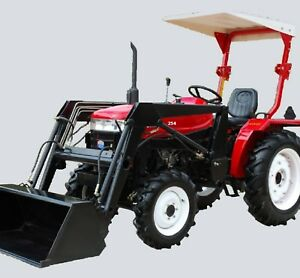 Mpe 2018 4wd Tractor W cat perkins Engine 4wd 25hp Tractor With Front End Loader