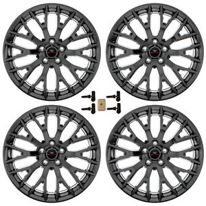 Ford Racing M1007km19xb Mustang Gt Performance Pack Wheel 19 x9 And 19 x9 5 Ma