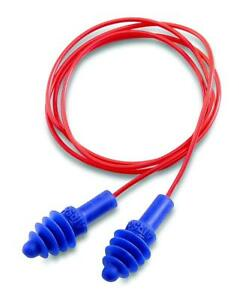 Howard Leight By Honeywell Airsoft Flanged Corded Reusable Earplugs