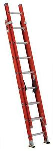 Louisville Ladder Fe3216 Fiberglass Extension 300 pound Capacity 16 feet