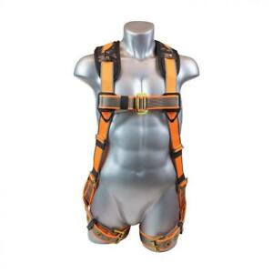 Warthog 5 Point Full Body Harness With Tongue Buckle Legs X pad xxxl