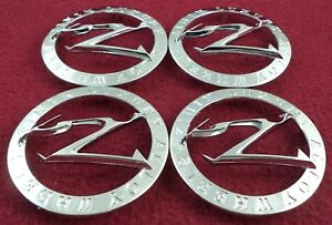 Zinik Wheels Chrome Custom Wheel Center Caps Set Of 4 Z25 logo Lg0708 46