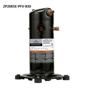 Copeland Zp20k5e pfv 830 Scroll Compressor R 410a 208 230 Volt 20 000 Btu New