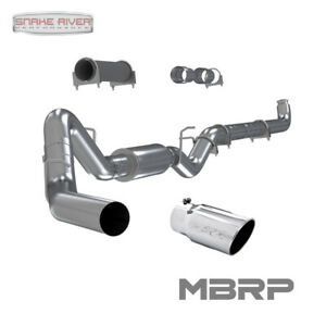 Mbrp 4 Exhaust 01 07 Chevy Gmc Duramax Diesel 6 6l Lb7 Lly Lbz W Stainless Tip