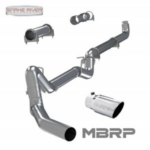Mbrp 4 Exhaust 01 07 Chevy Gmc Duramax Diesel 6 6l Straight Pipe Stainless Tip