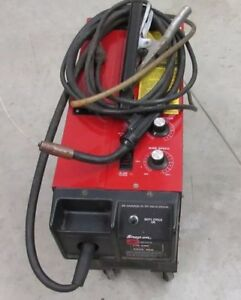 Snap on Ya217a Tote Mig Welder With Co2 Tank 110 Amp Professional Welding Medal