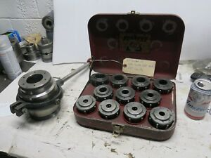 Burnerd L0 Lathe Spindle Collet Closer With Set Of Collets
