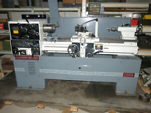 Clausing Metosa 13x40 Lathe With Tooling
