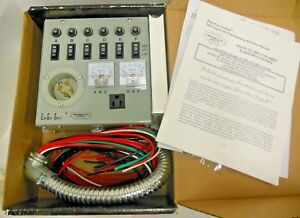 Emergen Switch Generator Manual Transfer Switch Model No 6 5000 Nib