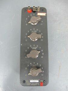 Gr General Radio Decade Resistor Resistance Box Type 1432 u