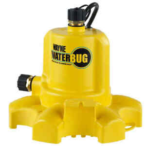 Wayne Wwb 1 6 Hp Thermoplastic Non submersible Utility Pump