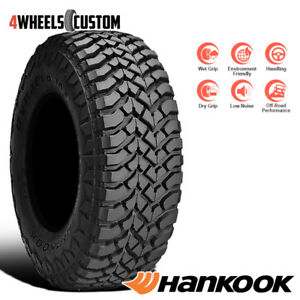 1 X New Hankook Rt03 Dynapro Mt 33 12 5 15 108q All Season Off Road Tire