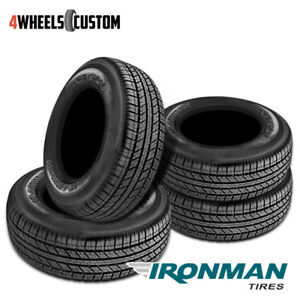 4 X New Ironman Rb Suv 255 70 17 112t All Season Traction Tire