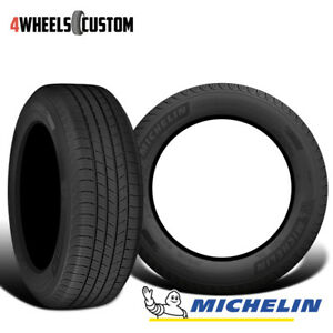 2 X New Michelin Defender T H Mtp 235 55 17 99h Standard Touring All Season Tire