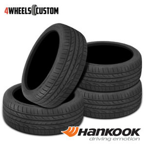4 X New Hankook Ventus S1 Noble2 H452 245 45 17 99w Ultra High Performance Tire