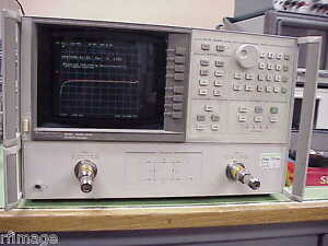 Hp Agilent Hp 8720b Network Analyzer 130mhz To 20ghz With New Calibration