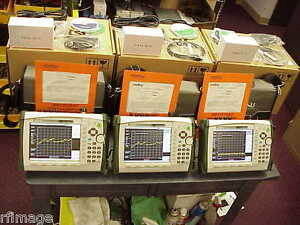 Anritsu Ms2726c Spectrum Analyzer 9khz 43ghz Freq Range Lot Sale 3 Units