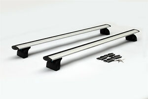 Aluminum Roof Rack Cross Bar Top Rail Luggage Carrier With Locks For Suv Truck