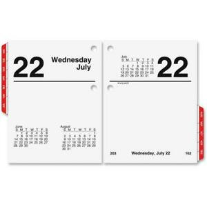 At A Glance Aage91950 Compact Desk Calendar Refill