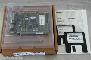 Allen Bradley Ab 1784 ktx Interface Module Isa Bus Pc Card W Software New