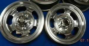 Set Vintage 15 Shelby Slot Mag Wheels Ford Bronco Truck 70 s Van Jeep Mags 150