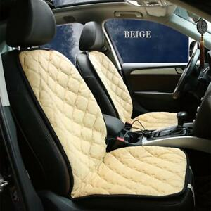 Dc12v Universal Auto Car Seat Cushion Heated Cover Heating Heater Warmer Pad Hot